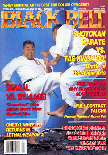 Are Traditional Karate Kicks Better Than Tae Kwon Do's