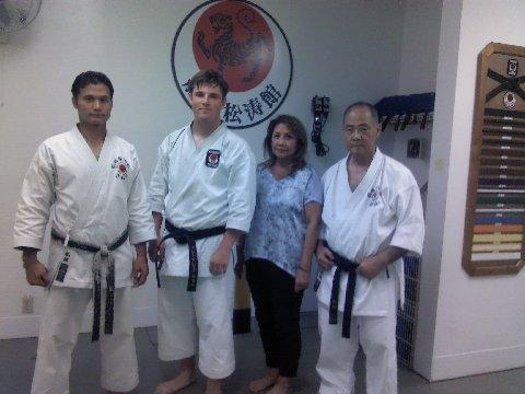Karate Funakoshi Shotokan August 2016 AJ leaving (11)