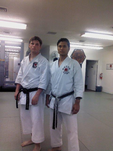 Karate Funakoshi Shotokan August 2016 AJ leaving (8)